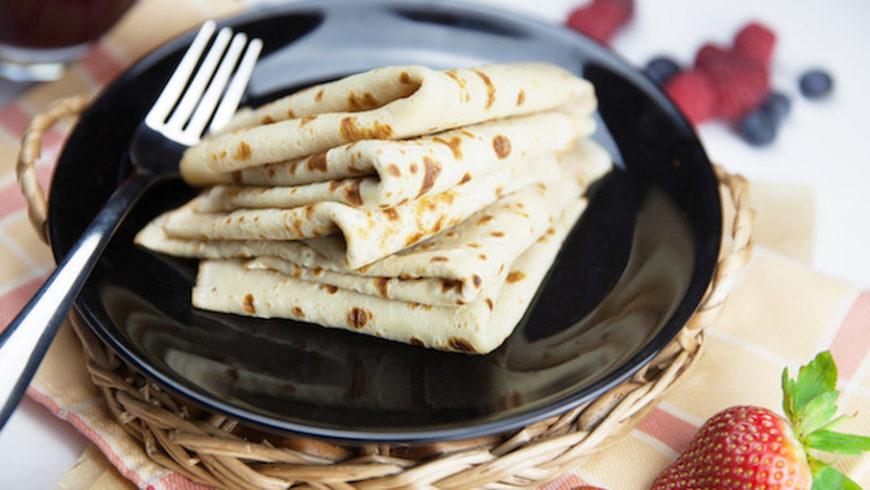 Рецепт блинов из рисовой муки